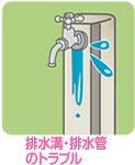 排水溝・排水管のトラブル